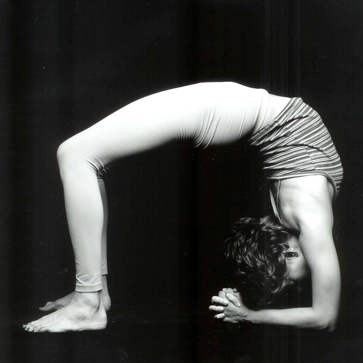 Urdvha Dhanurasana upward bow yoga pose