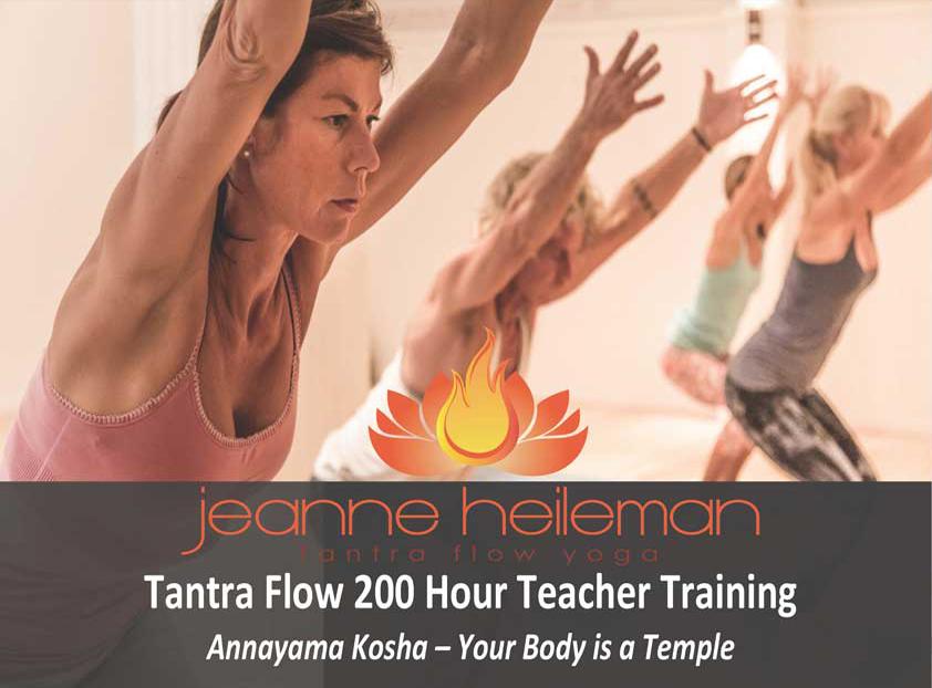 Jeanne Heileman Tantra Flow Yoga 200 Hour Teacher Training Spain October-November 2015